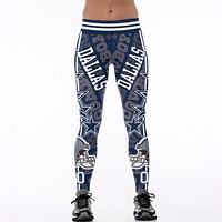 Dallas Cowboys Leggings (Plus Sizes Available)