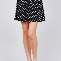 Point Taken Mini Skirt - Black
