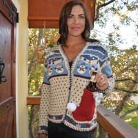 Beer holder Party Sweater, Ugly Christmas sweater, new years eve, Medium, beer, women, alcohol, party sweater, sexy, snowman