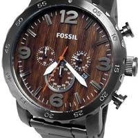 Fossil JR1355 Brown Tone Dial Mens Watch