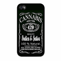 Cannabis Weed iPhone 4s Case