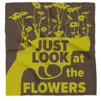"""""""Just Look At The Flowers"""" The Walking Dead Bandana"""