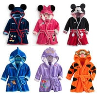Choice of Hooded Character Bath Robes