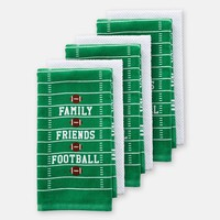 The Big One 6-pk. Football Kitchen Towel Set