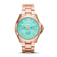 Cecile Multifunction Stainless Steel Watch – Rose