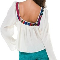 BILLABONG CLASS CITY PEASANT TOP | Swell.com