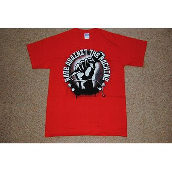 Rage Against The Machine Mic Check T Shirt New Official Killing In The Name Of|T-Shirts