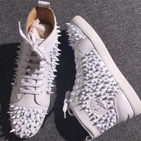 Cl Christian Louboutin Pik Pik Style #1988 Sneakers Fashion Shoes - Best Online Sale