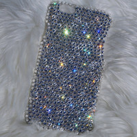 Super Bling Swarovski Element Crystal Diamond Case Back Cover For Samsung Galaxys, And Iphone Models -Free US SHIPPING