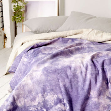 Vintage Lilac Blanket - Urban Outfitters