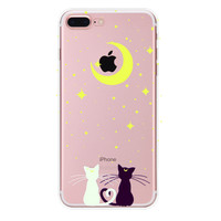 Love Cat iPhone 7 7Plus & iPhone se 5s 6 6 Plus Case Cover +Gift Box-90