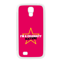 Celebrity Hater White Silicon Rubber Case for Galaxy S4 by Chargrilled