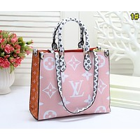 Louis Vuitton LV Women Shopping Leather Tote Crossbody Satchel Shoulder Bag Handbag 1#