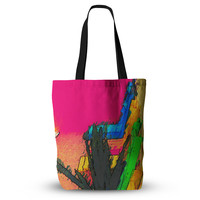 """Oriana Cordero """"Days of Summer"""" Rainbow Abstract Everything Tote Bag"""