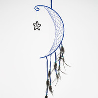 Moon/Star Dreamcatcher Navy One Size For Women 26991105701