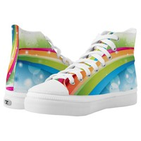 Rainbow Fashion Printed Shoes