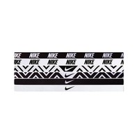 Nike 6-pk. Zigzag Sport Headbands, Size: One Size (Black)