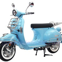"""2014 SSR Turino 150cc Scooter / 150cc Moped with 10"""" Aluminum Rims (Fully Assembled Package Free Rear Trunk)"""