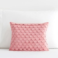 The Emily & Meritt Mermaid Scallop Pillow Cover