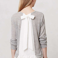 Anthropologie - Ruffled and Ribboned Pullover