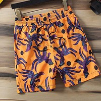 KENZO Popular Men Women Casual Print Sport Running Beach Shorts