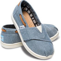 BLUE CHAMBRAY TINY TOMS BIMINIS