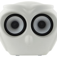 aOWL Bluetooth speaker White by Kreafunk