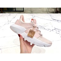 Adidas Prophere trend casual sports running shoes pink