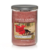 Hazelnut Coffee : Large 2-Wick Tumbler Candles : Yankee Candle