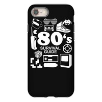 80s survival guide cassette high iPhone 8