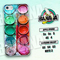 Water Color, Paint Box, iPhone 5 case, iPhone 5C Case, iPhone 5S case, Phone cases, iPhone 4 Case, iPhone 4S Case, iPhone case, WP01