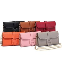Hermes Classic Chain Bag Coin Purse Women Fashion Ladies One Shoulder Messenger Bag
