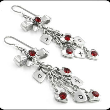 Heart and Valentines Earrings