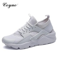 Casual Shoes Woman Summer Sneakers Comfortable Breathable Mesh Flats Female Platform Sneakers Women Chaussure Femme trasero