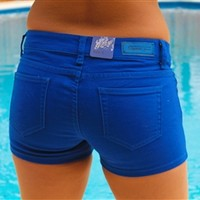 Southern Favorite Shorts - Royal Blue
