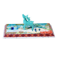 Tracy Porter Folklore Holiday 3-D Cheese Platter