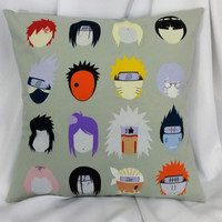 Manga bedding made from Naruto: Shippūden tshirt.