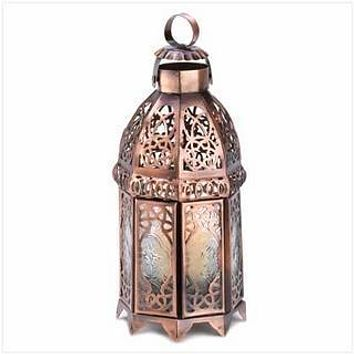 Scented Candles Copper Moroccan Candle Lamp