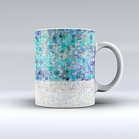 The Tiled Paint ink-Fuzed Ceramic Coffee Mug