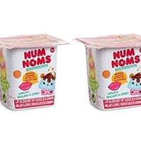 Set of 2 Num Noms Blind Bags Series 1 (Lipgloss, Collector Poster)