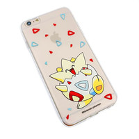 Pokemon Go Togepi Soft Silicone Phone Case Cover Shell For iPhone 5 5S SE 6 6S 6 Plus 6s Plus