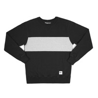 ONLY NY   STORE   Cut & Sew   Color Block Crewneck