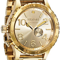 The Nixon Watch 51-30 Tide in All Gold