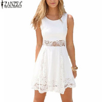 Summer Lace White Dress