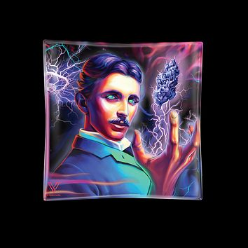 High Voltage Tesla Glass Ashtray