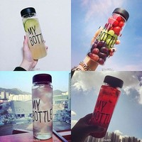 Popular My Bottle Fruit Juice Sport Water Cup Portable Travel Bottle 500ML = 5617236353