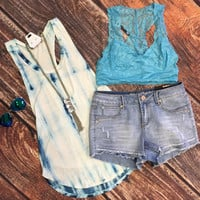 Amazing Day Tank: Blue