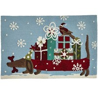 Doggy Packages Rug$79.95