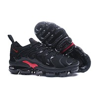 2018 Nike Air VaporMax Plus TN Black Red Sport Running Shoes - Sale