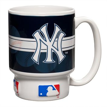 New York Yankees - Baseball Logo Homerun 16 oz Mug